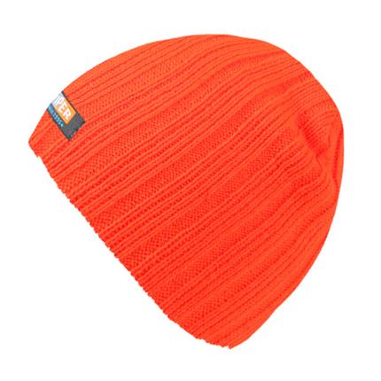 SM-169 Strickmütze Form: Long Beanie, Slouch Farbe: neon orange
