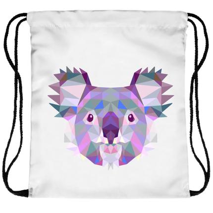 RU-56 Gymbag, Gymsac Design: Koala (Polygone) Farbe: multicolor