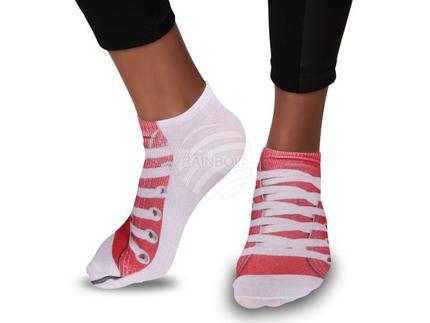 SO-03 Motiv Socken Design:Schuh Farbe: weiss