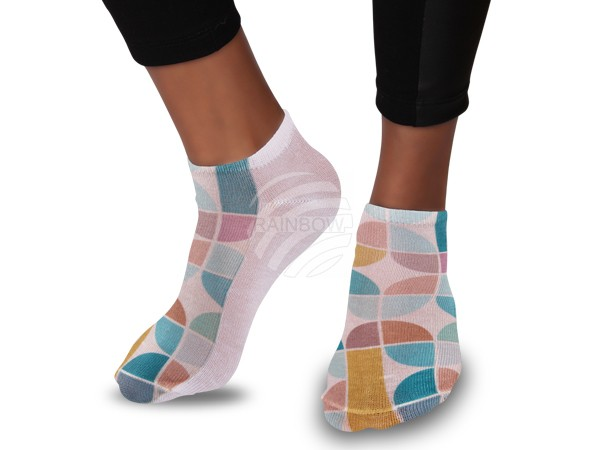 SO-55 Motiv Socken Design:60s 70s Retro Design Farbe: multicolor