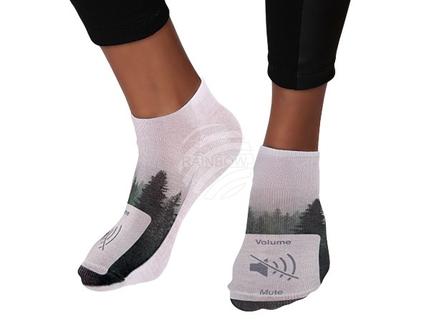 SO-81 Motiv Socken Design:Wald: Volume = mute Farbe: grün