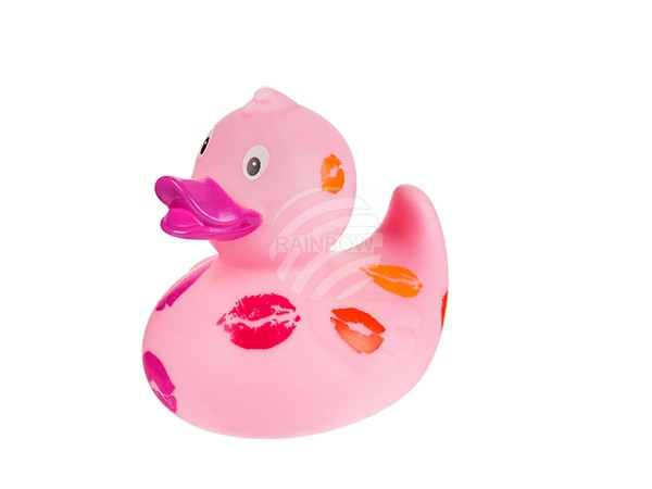 20-1071 Quietscheente, Hot Lips, ca. 8 cm, 1152/PAL