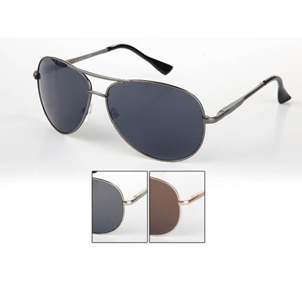 V-1282 VIPER Damen und Herren Sonnenbrille Form: Pilotenbrille Farbe: silber, rose gold und gunmetal sortiert
