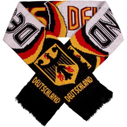 FS-82 Schals Fanschals schwarz weiß Schriftzug Deutschland Flaggen Wappen Adler