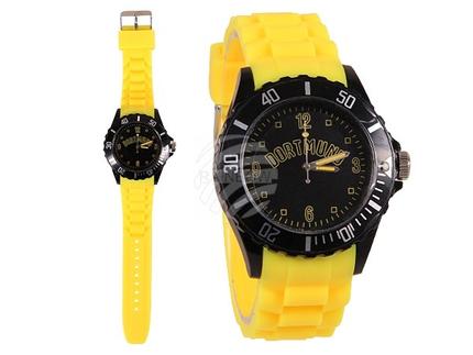 UR-258 Uhren Armbanduhren Städteuhren Fanartikel Dortmund gelb Ø ca. 4,4 cm