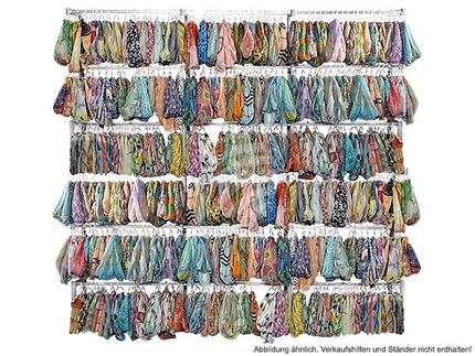 SCH-MIX500 Sortierung mit 500 Stück Damen Loop Schals im Mix