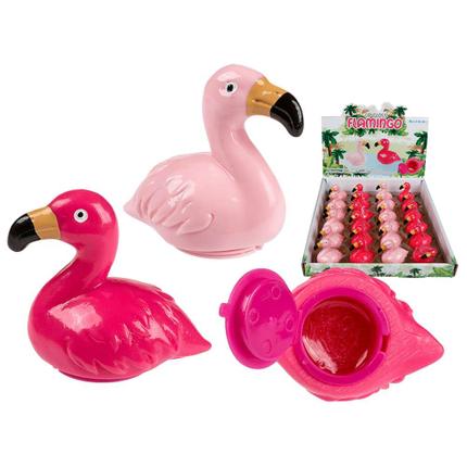 36-2049 Lipgloss, Flamingo, ca. 1,5 g, 2-farbig sortiert, 24 Stück mit Display