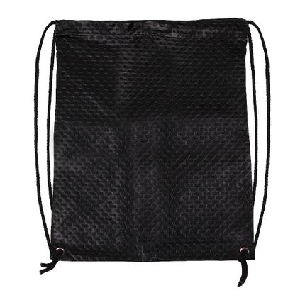 RU-161 Gymbag, Gymsac Design: geriffelt Farbe: schwarz