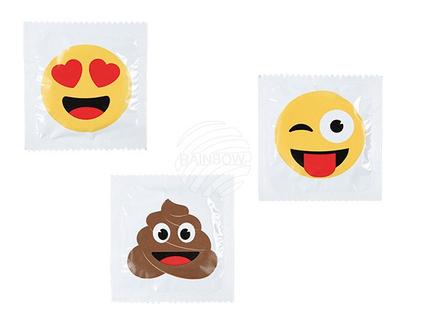 61-4237 Latex-Kondom, Emotion, 3-fach sortiert, 6 Stück im Polybeutel