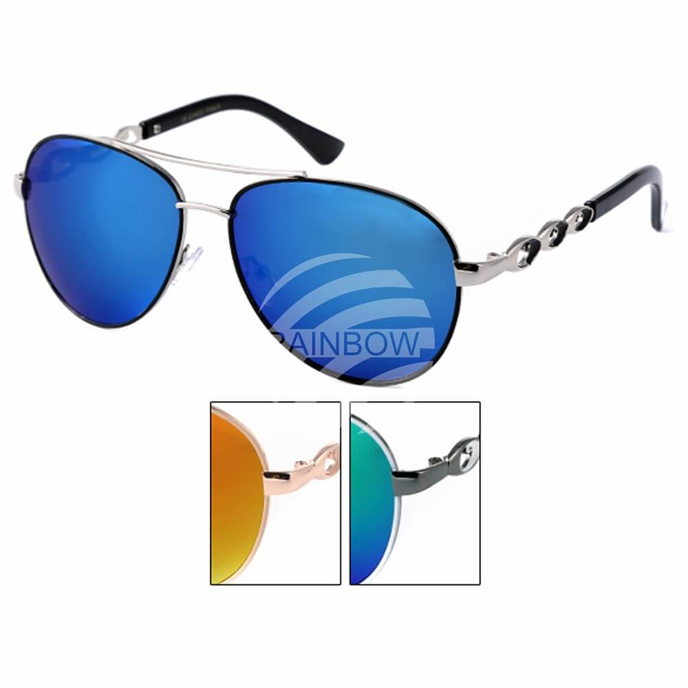 LOOX-105 LOOX Sonnenbrille Long Beach Applikation am Bügel
