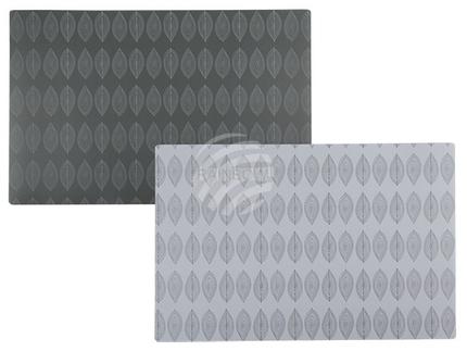 145227 Polypropylen-Tischset, Tropfen, ca. 44 x 30 cm, 2-farbig sortiert, 12 Stück im Polybeutel, 7200/PAL