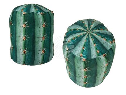 190146 Stoff-Türstopper, Kaktus, ca. 13 x 16 cm, ca. 1 kg