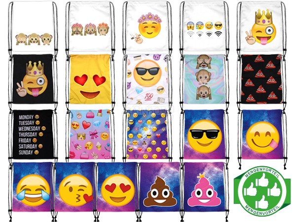 PACK-019 Starter Paket Gym Sacs Emoticon Mix