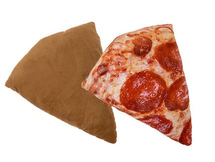 32-2038 Deko-Kissen, Pizzastück, 100% Polyester, ca. 39 cm, ca. 170 g Füllgewicht, 144/PAL