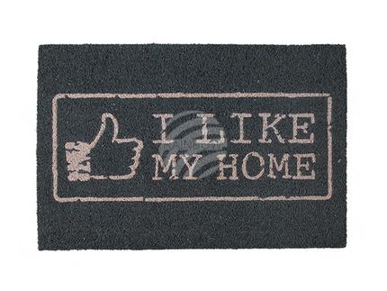145403 Fußmatte, I like my Home, ca. 60 x 40 cm, mit Headercard zum Aufhängen