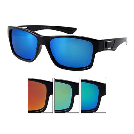 K-121 VIPER Kinder Sonnenbrille Wayfarer Applikation am Bügel