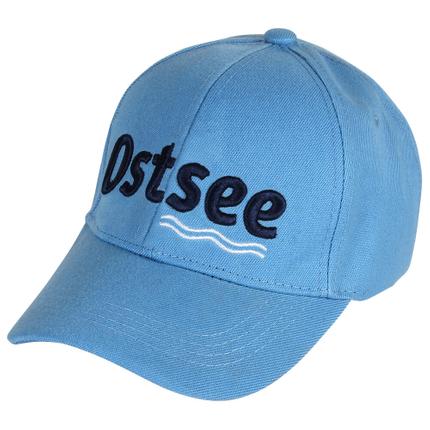 CAP-133 Baseballcap Basecap Cap Kappe blau hellblau Ostsee Maritim