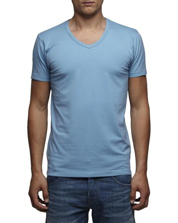 Jack & Jones T-Shirt Basic V-Neck Slim Fit – Bild 5
