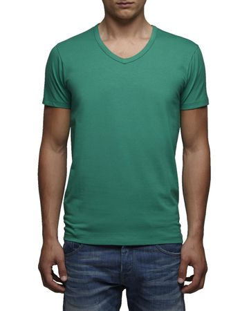 Jack & Jones T-Shirt Basic V-Neck Slim Fit – Bild 6