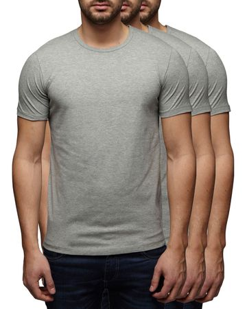 3er Pack - Jack & Jones O-Neck Basic T-Shirt 12058529 – Bild 3