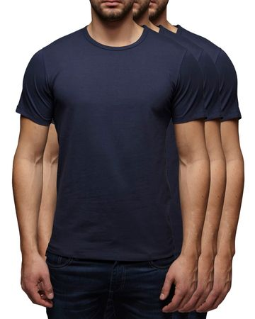 3er Pack - Jack & Jones O-Neck Basic T-Shirt 12058529 – Bild 4