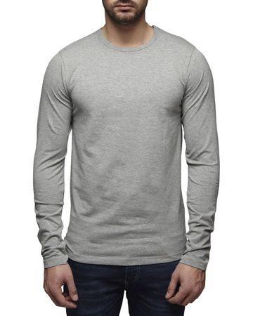 Jack & Jones O-Neck Basic Langarm T-Shirt 12059220 – Bild 2