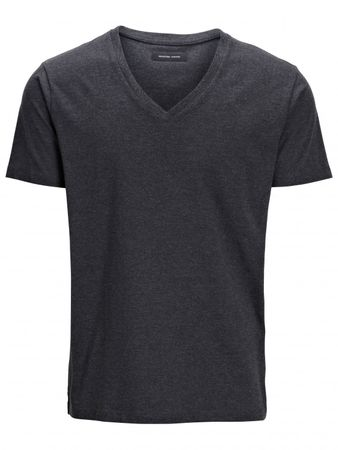 Selected Homme Drill Single Deep V-Neck Herren Shirt – Bild 5