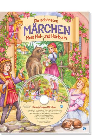 Märchenmalbuch mit CD
