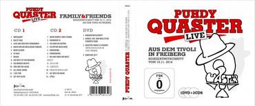 "PUHDY QUASTER ""Live aus dem Tivoli Freiberg 2016"" (CD + DVD Video)"
