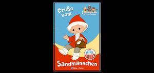 Grüße vom Sandmännchen, Mini-Malbuch u. Umschlag