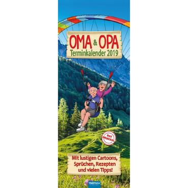 Oma & Opa Terminkalender 2019