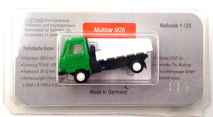 Multicar M26 L11.1 (TT) grün-weiß (Modelleisenbahn)
