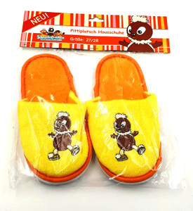 Pantoffeln Pitty gelb/orange Gr. 27/28