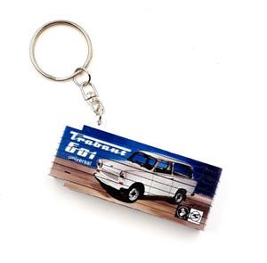 Mini-Zollstock Schlüsselanhänger 0,5m Trabant 601 universal