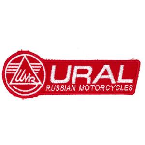 Aufnäher Applikation Emblem Abzeichen URAL Russian Motorcycles
