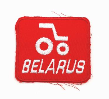 Aufnäher - Belarus rot