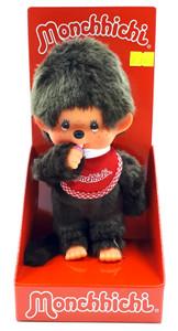 Monchhichi Puppe Junge rot