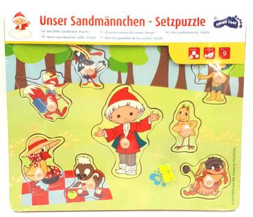 Unser Sandmännchen - Setzpuzzle