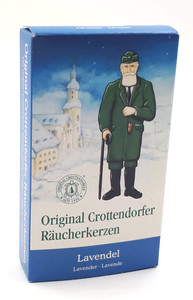 Räucherkerzen Original Crottendorfer Lavendel