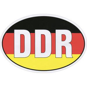 Aufkleber - DDR - Gr. ca. 7,8 x 5,2 cm