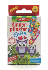 WUNDmed® Kinderpflaster Eulen