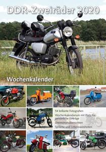 DDR Zweiräder Wochenkalender 2020