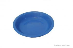 Teller tief pastell-blau
