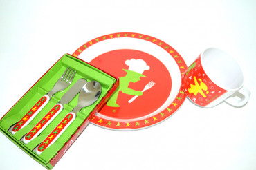 Ampelmann - Kinderteller 4farbig