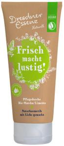 """DUSCHBAD """"FRISCH MACHT LUSTIG!""""PFLEGEDUSCHE BIO-MATCHA/LIMETTE - 200 ML"""
