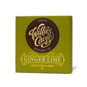Williés Cacao - Ginger Lime - Tafel