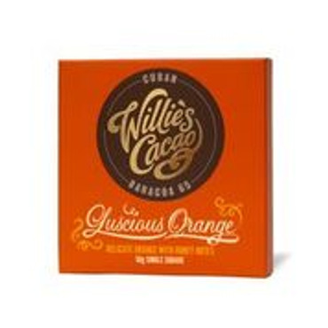 Willie´s Cacao - Luscious Orange  - Tafel