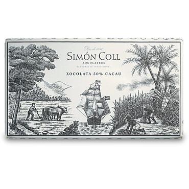 Simon Coll - 50% Zartbitter - Nostalgietafel