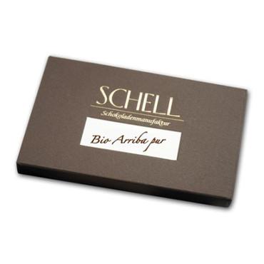 Schell - Tafel - Bio Arriba pur 100%