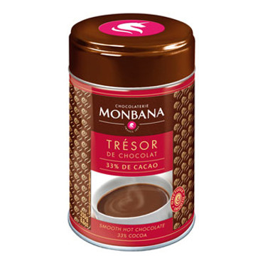 Monbana Trésor De Chocolat 33% Chocolate Powder